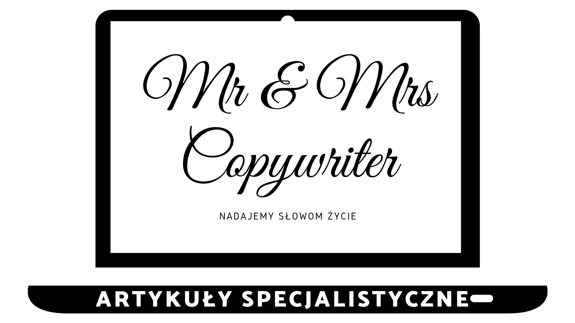 Artykuły specjalistyczne, teksty specjalistyczne, teksty branżowe - Copywriter