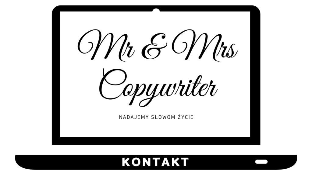 Kontakt - Mr and Mrs Copywriter