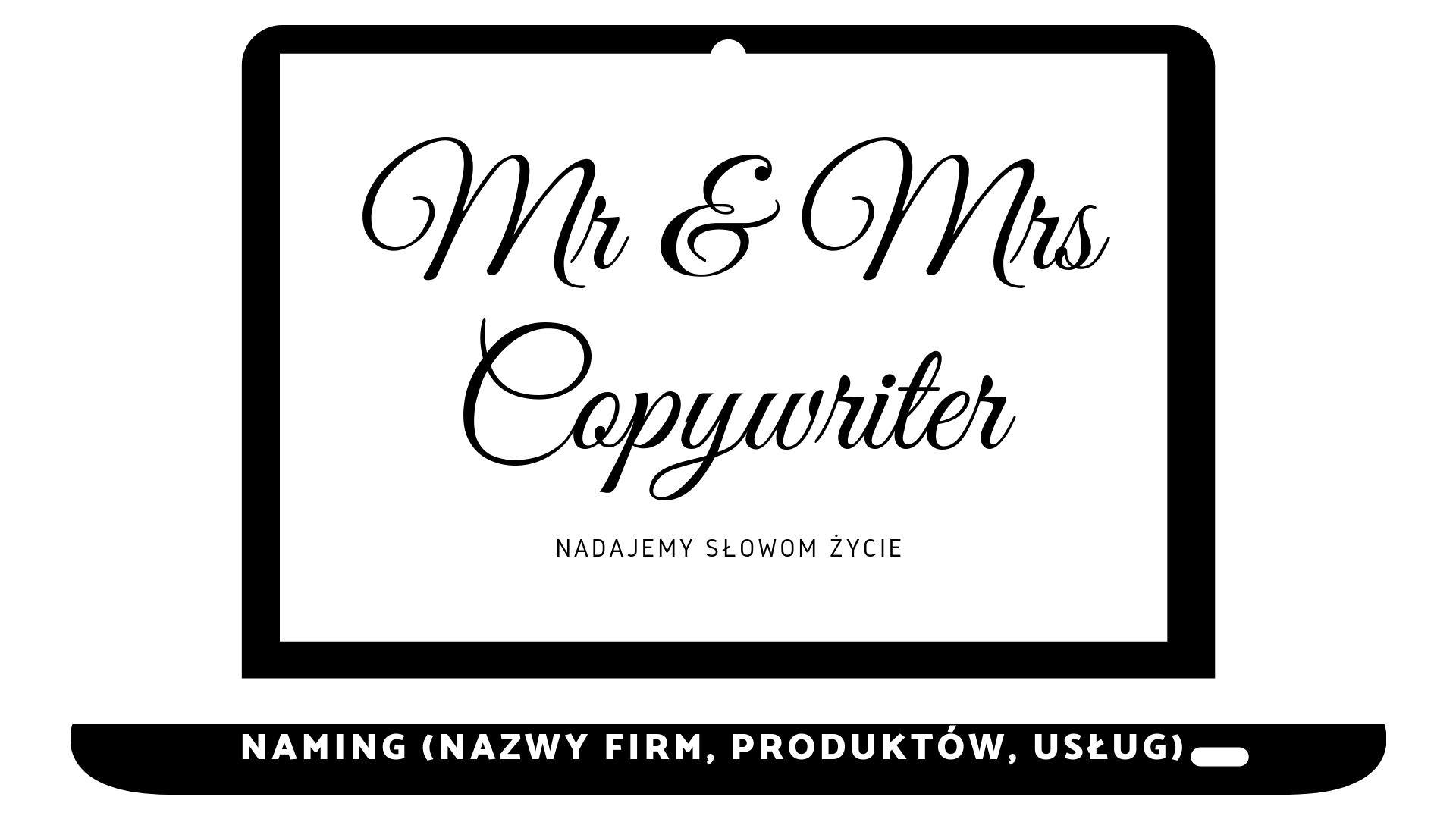Naming - nazwy firm, produktów, usług - Copywriter