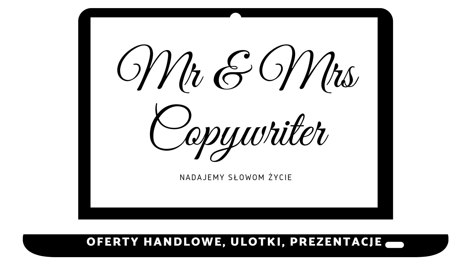 Oferty handlowe, ulotki, prezentacje, copywriter